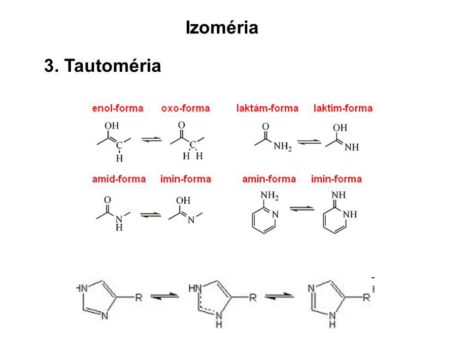 3. Tautoméria