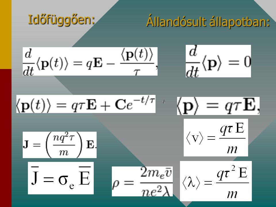"""""""R makroszkopikusan lineáris """"Szóródás mikroszkopikus potenciálgátakon: lineáris karakterisztika"""