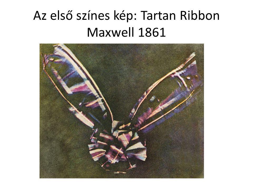 Az első színes kép: Tartan Ribbon Maxwell 1861
