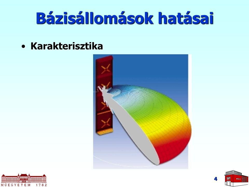 4 Bázisállomások hatásai KarakterisztikaKarakterisztika