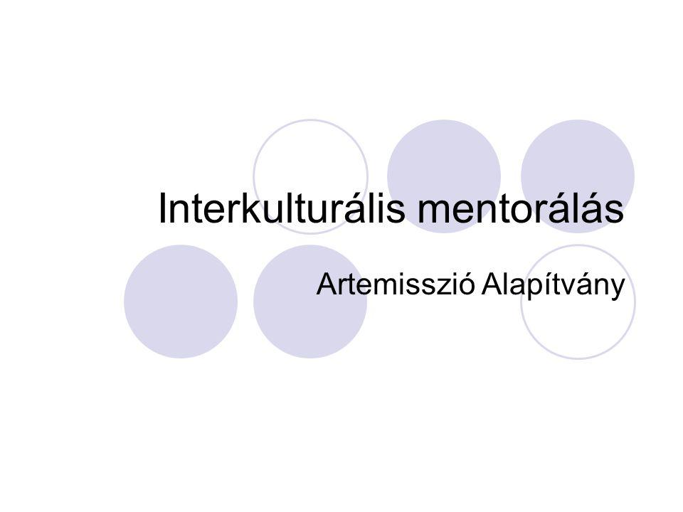 Interkulturális mentorálás Artemisszió Alapítvány
