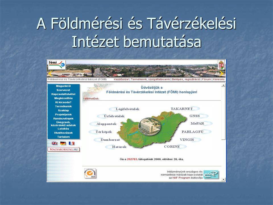 A Földmérési és Távérzékelési Intézet bemutatása
