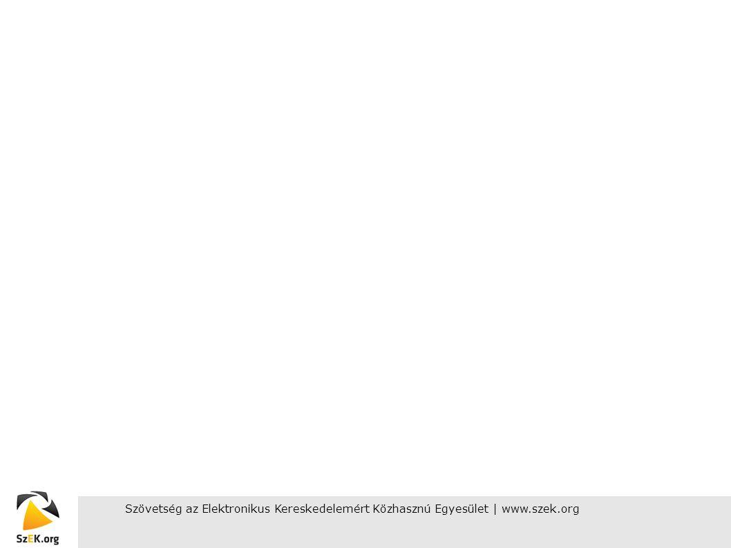 Szövetség az Elektronikus Kereskedelemért Közhasznú Egyesület | www.szek.org18 A szövetségről Hivatalos megalakulás: 2005.