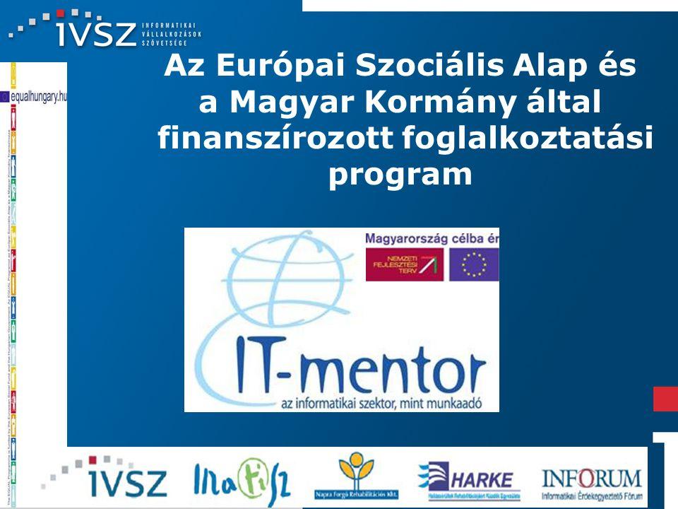 14 Az Európai Szociális Alap és a Magyar Kormány által finanszírozott foglalkoztatási program