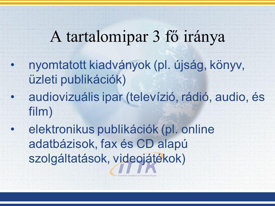 Magyarország fejlesztési lehetőségek Kulcspontok: játékok, vizualizáció, szoftverfejlesztés.