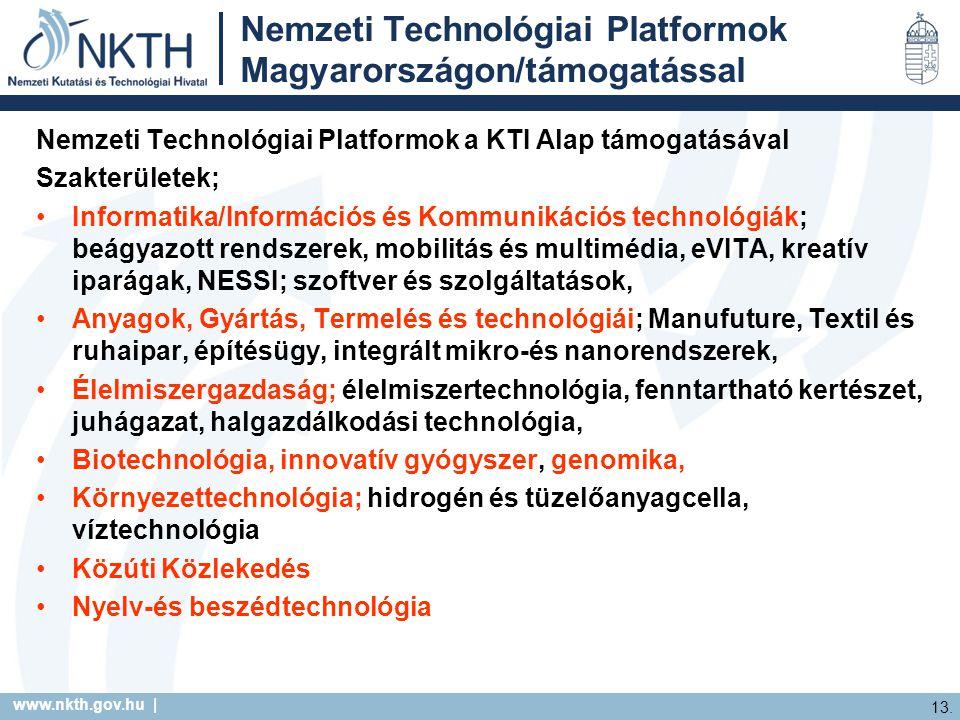 www.nkth.gov.hu | 13.