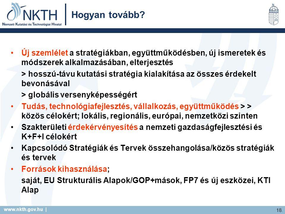 www.nkth.gov.hu | 18. Hogyan tovább.