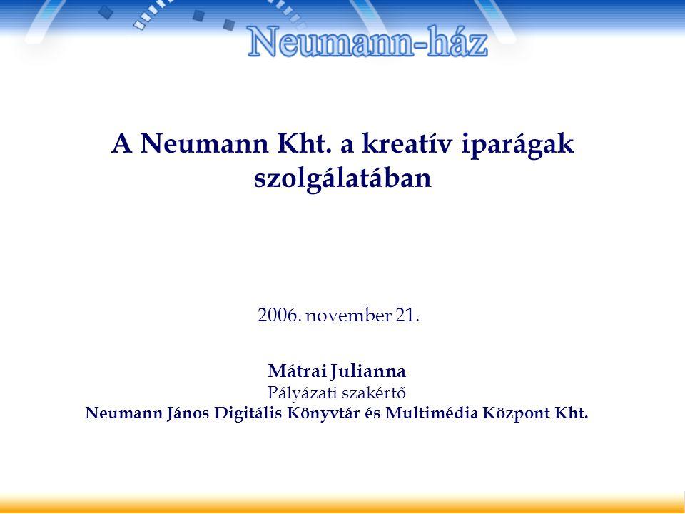 A Neumann Kht.