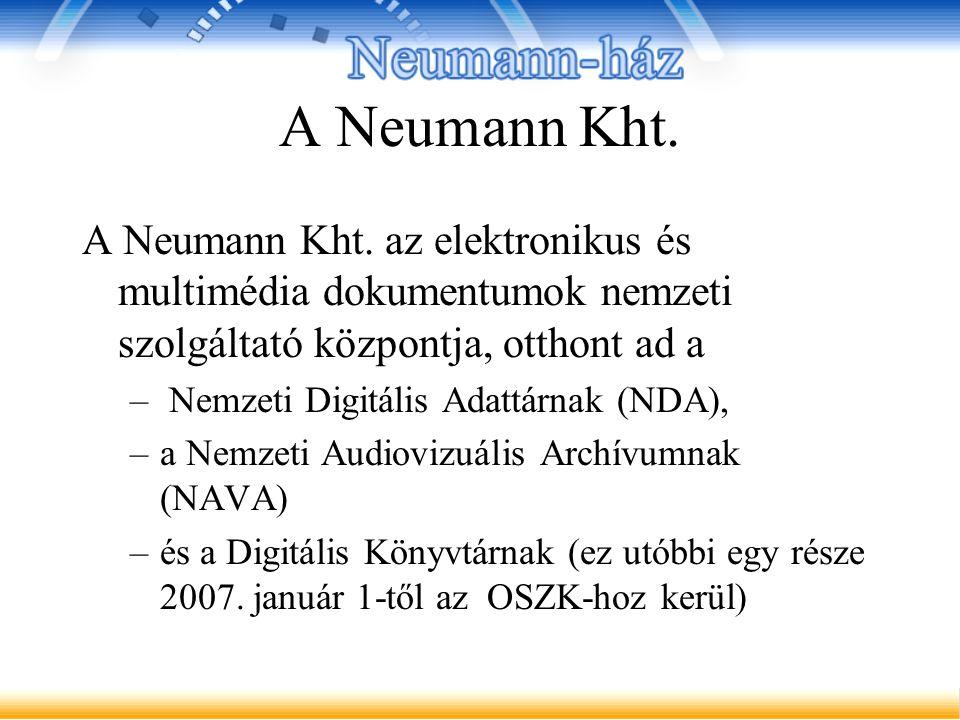 A Neumann Kht. A Neumann Kht.