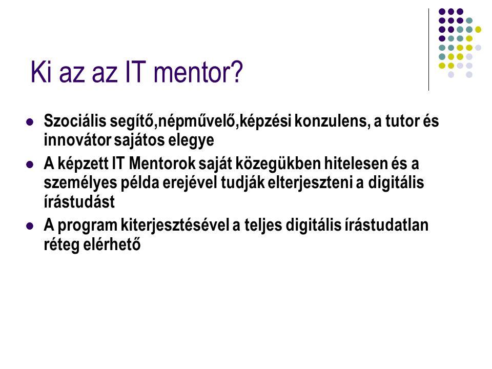 Ki az az IT mentor.