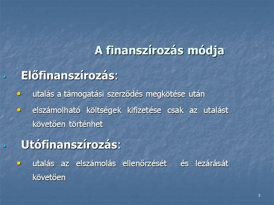 Támogatási időszak Nemzeti összetartozás kollégium 2013.06.01.
