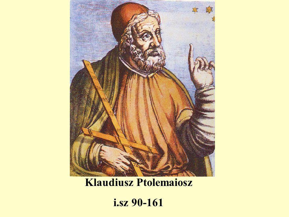 Klaudiusz Ptolemaiosz i.sz 90-161