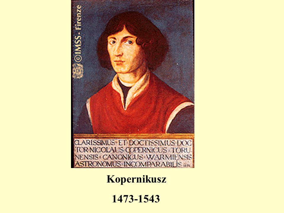 Kopernikusz 1473-1543