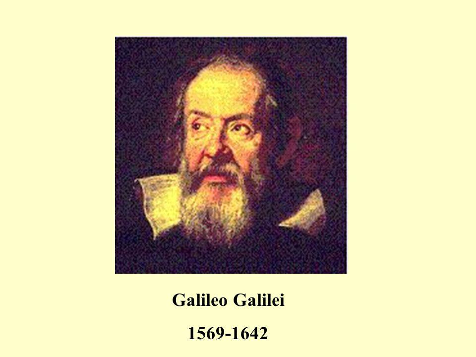 Galileo Galilei 1569-1642