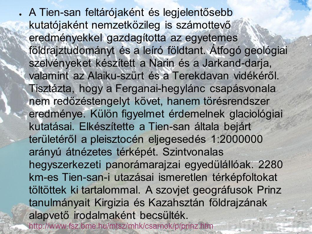 ● Úti jegyzetek Közép-Ázsiából.Földr.