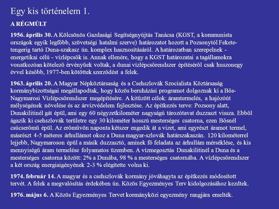 Egy kis történelem 7d.TÁRGYALÁSOK A HÁGAI ÍTÉLET UTÁN 2001.