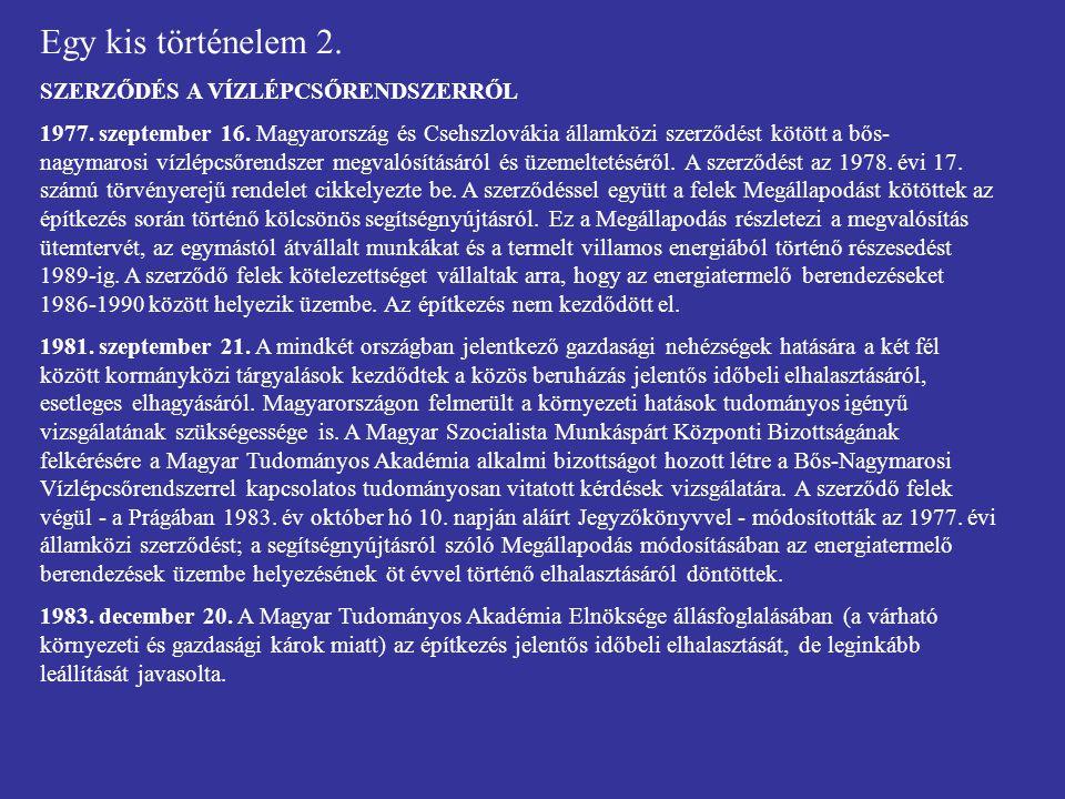 Egy kis történelem 3.AZ ÉPÍTÉS KORSZAKA 1984. február 7.