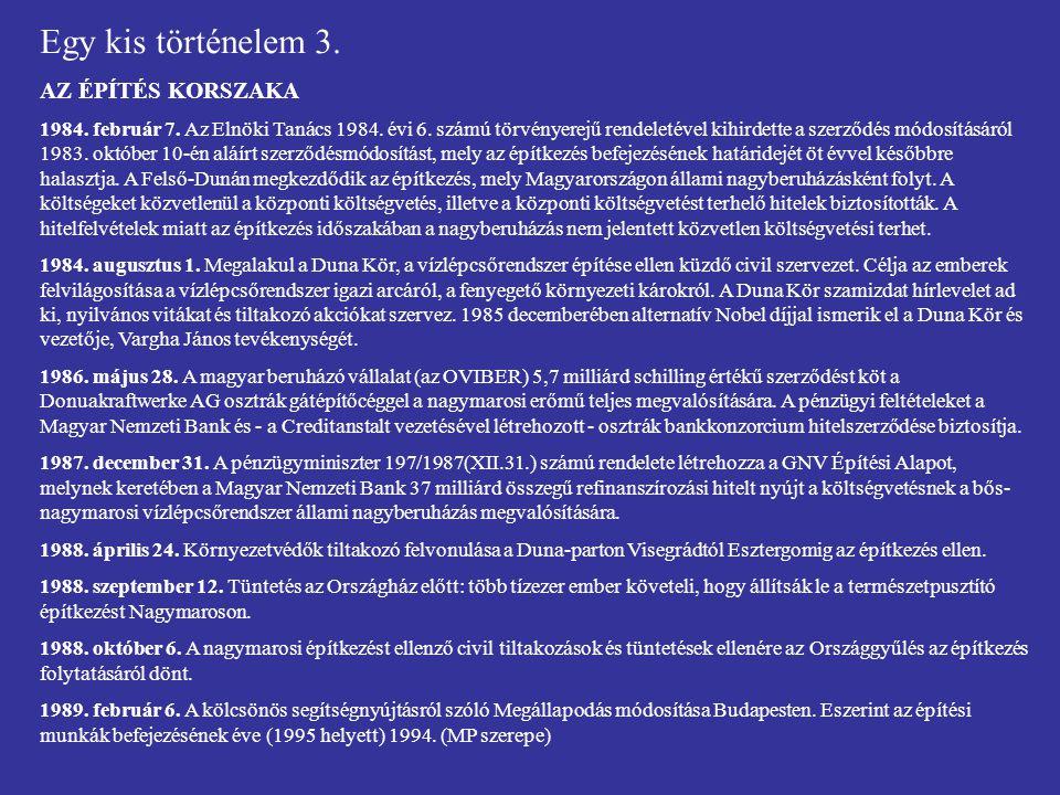 Egy kis történelem 7f.TÁRGYALÁSOK A HÁGAI ÍTÉLET UTÁN 2007.