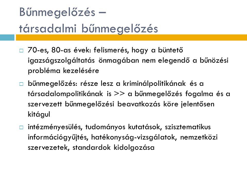 A magyar bűnmegelőzés prioritásai 3.