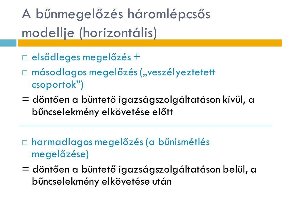 A magyar bűnmegelőzés prioritásai 4.AZ ÁLDOZATTÁ VÁLÁS MEGELŐZÉSE  Példa:  XIII.