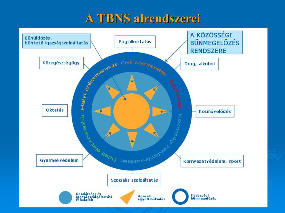 A TBNS alrendszerei