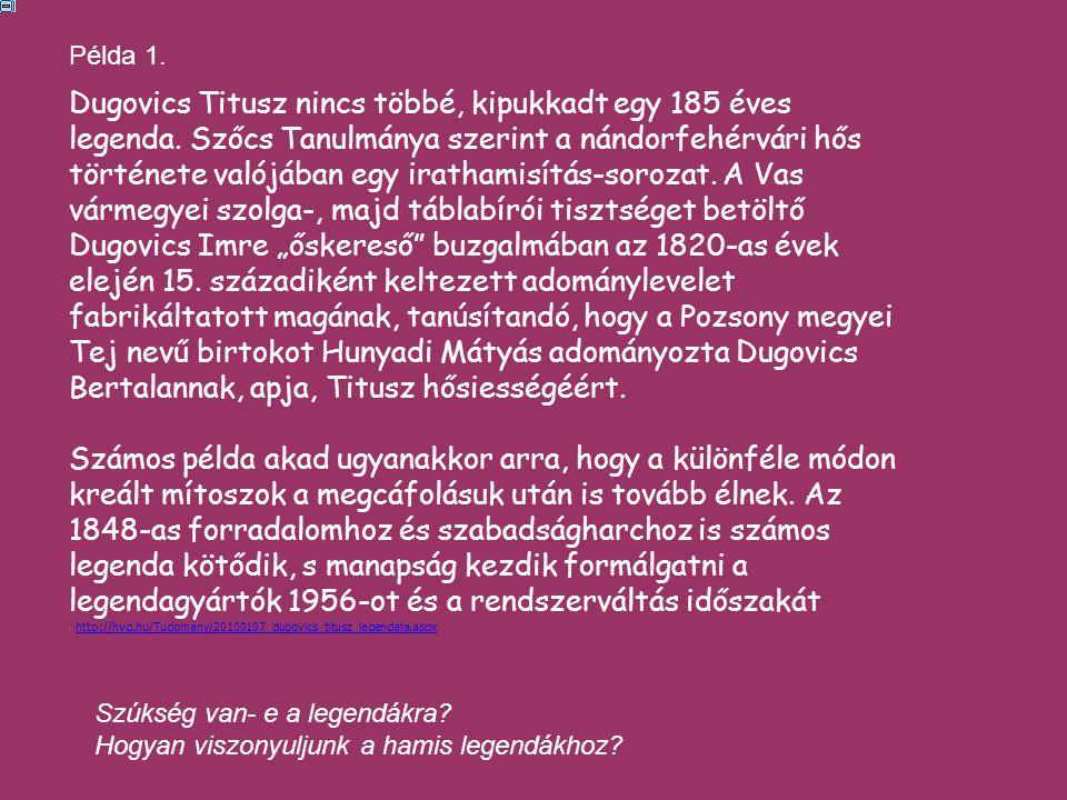 Dugovics Titusz nincs többé, kipukkadt egy 185 éves legenda.