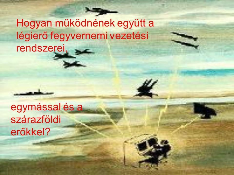 Hogyan működnének együtt a légierő fegyvernemi vezetési rendszerei, egymással és a szárazföldi erőkkel