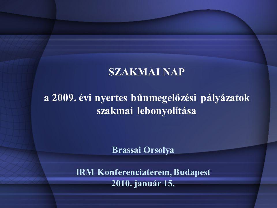 SZAKMAI NAP a 2009.