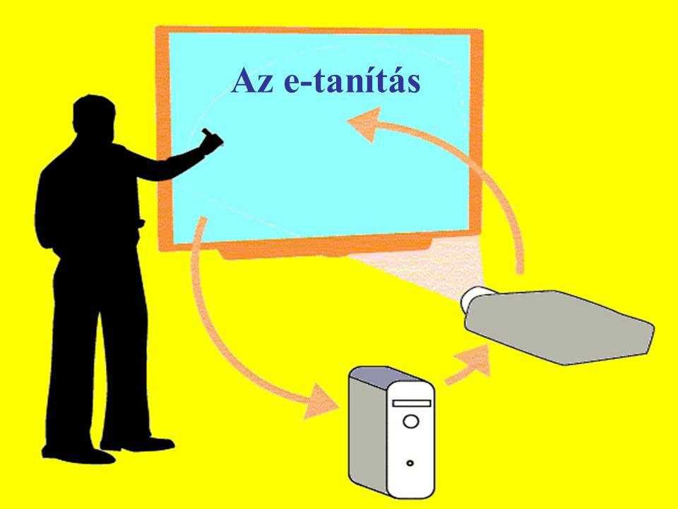 Az e-tanítás