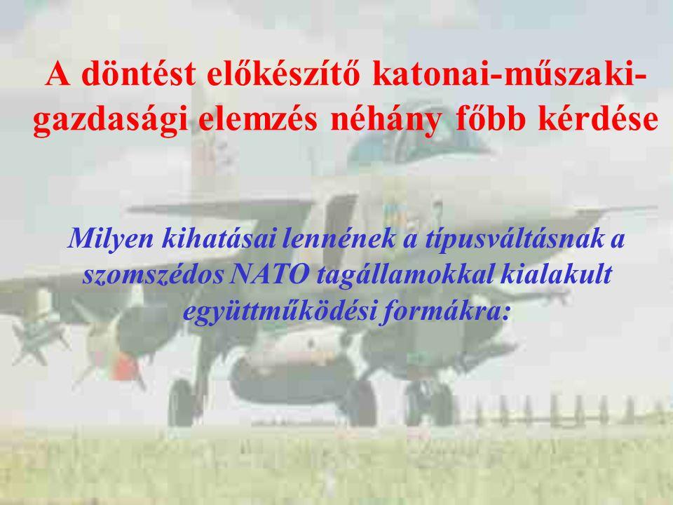 Hogyan működnének együtt a légierő vezetési rendszerei a hazai és a szomszédos államok légiforgalom- irányító rendszereivel