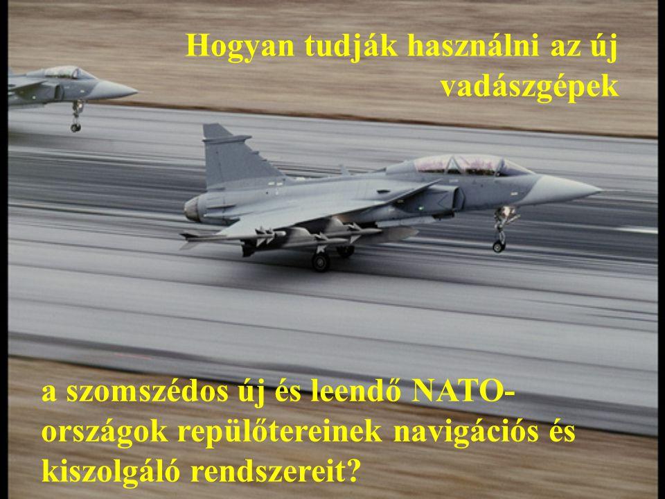 A döntést előkészítő katonai-műszaki- gazdasági elemzés néhány főbb kérdése Milyen kihatásai lennének a típusváltásnak a szomszédos NATO tagállamokkal kialakult együttműködési formákra: