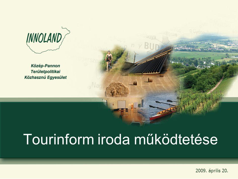 2 Amit eddig megvalósítottunk: -Tourinform iroda zökkenőmentes átvétele rövid idő alatt -Turizmus Zrt.