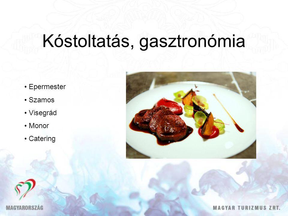 Kóstoltatás, gasztronómia Epermester Szamos Visegrád Monor Catering