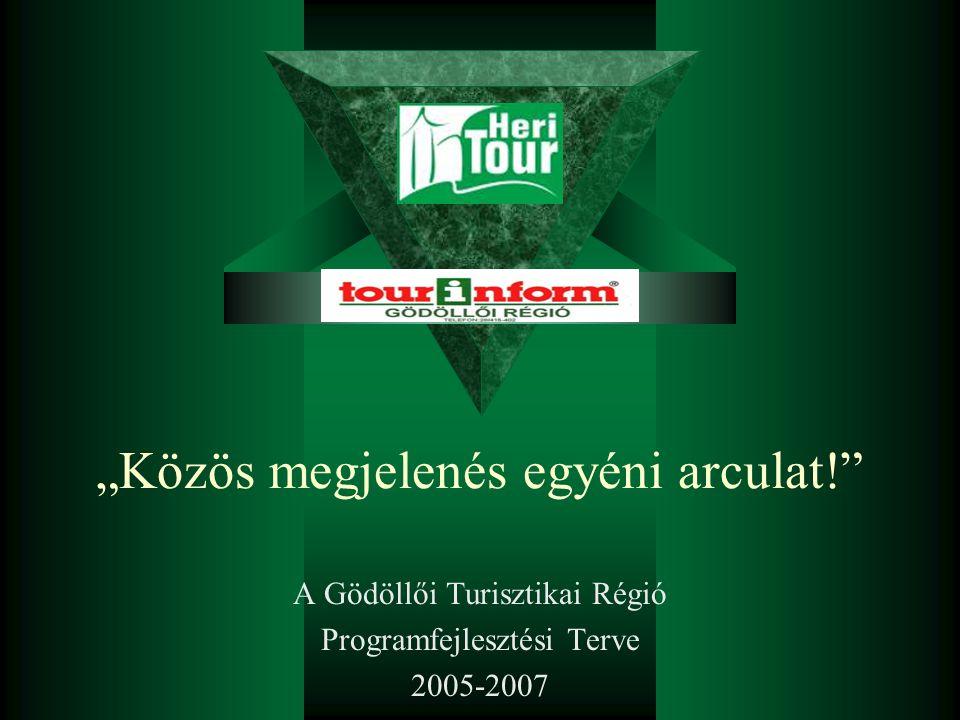 """""""Közös megjelenés egyéni arculat! A Gödöllői Turisztikai Régió Programfejlesztési Terve 2005-2007"""