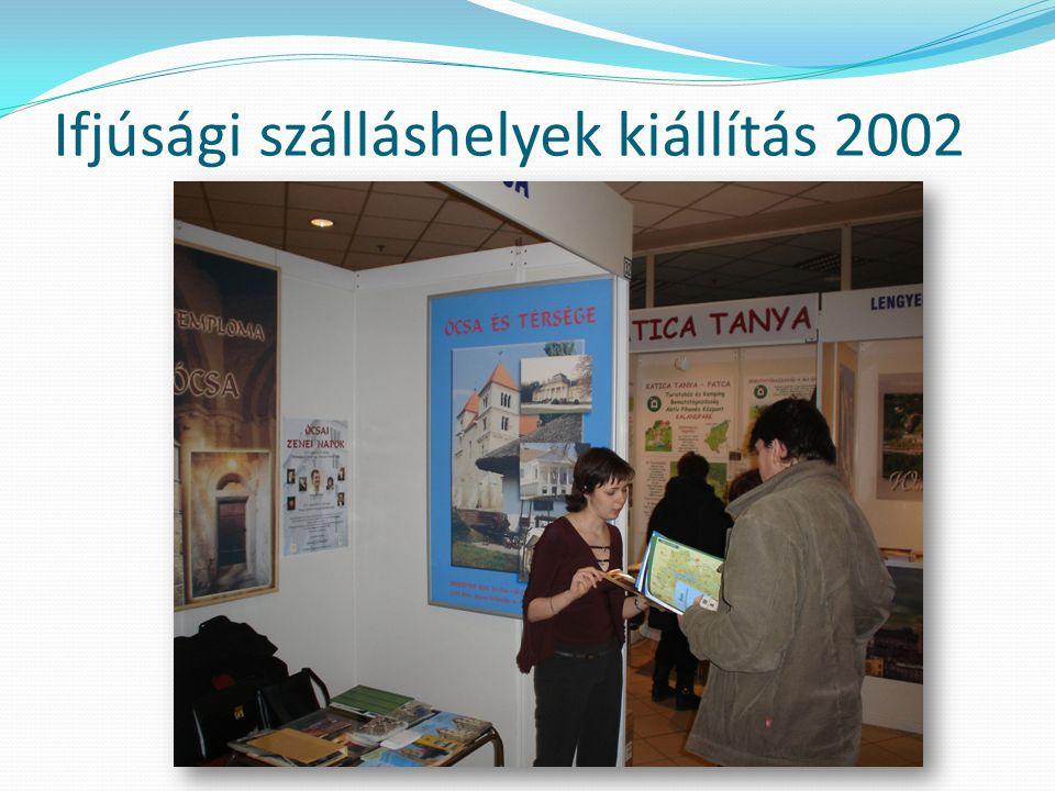 Ifjúsági szálláshelyek kiállítás 2002