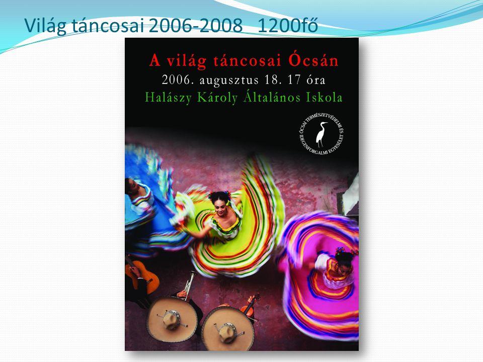 Világ táncosai 2006-2008 1200fő