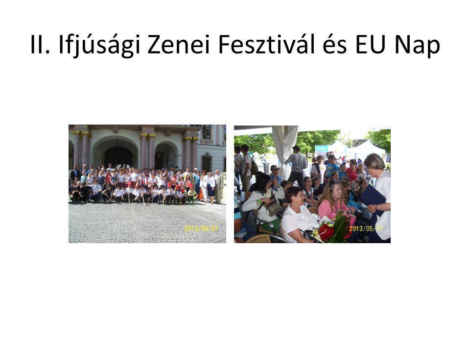II. Ifjúsági Zenei Fesztivál és EU Nap