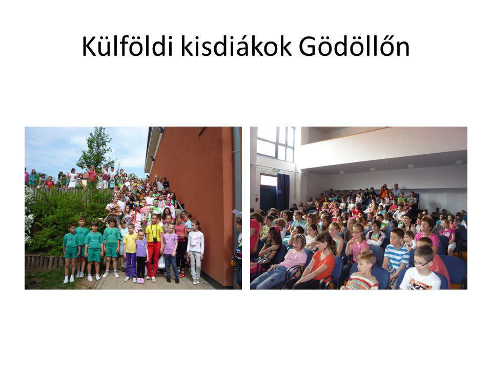 Külföldi kisdiákok Gödöllőn
