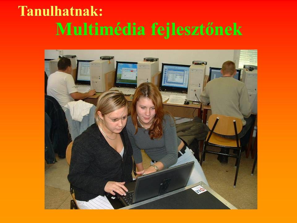 Multimédia fejlesztőnek Tanulhatnak: