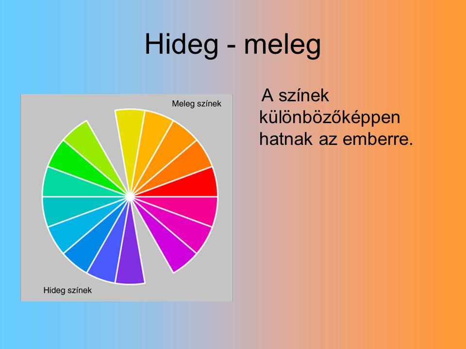 Színek jelentései -sárga: örök fény… -piros: szív, szeretet… -lila: vágy, értelem… -kék: belső nyugalom… -zöld: fiatalság, remény…