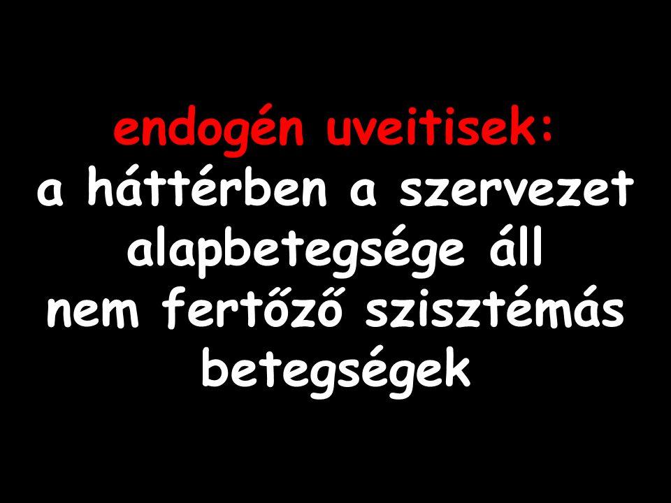endogén uveitisek: a háttérben a szervezet alapbetegsége áll nem fertőző szisztémás betegségek