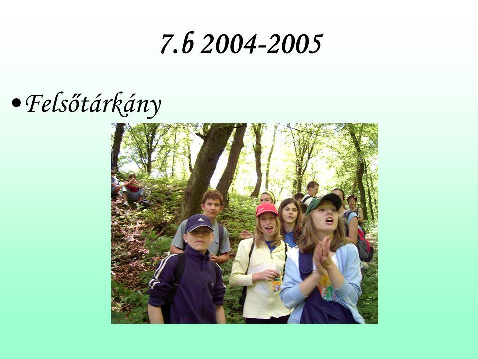 7.b 2004-2005 Felsőtárkány