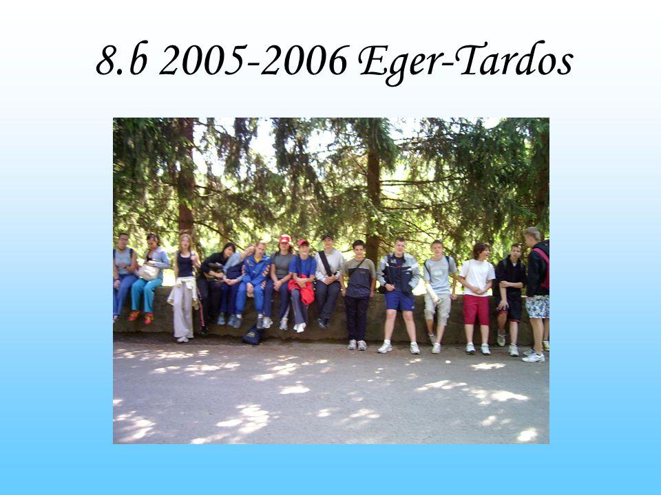 8.b 2005-2006 Eger-Tardos