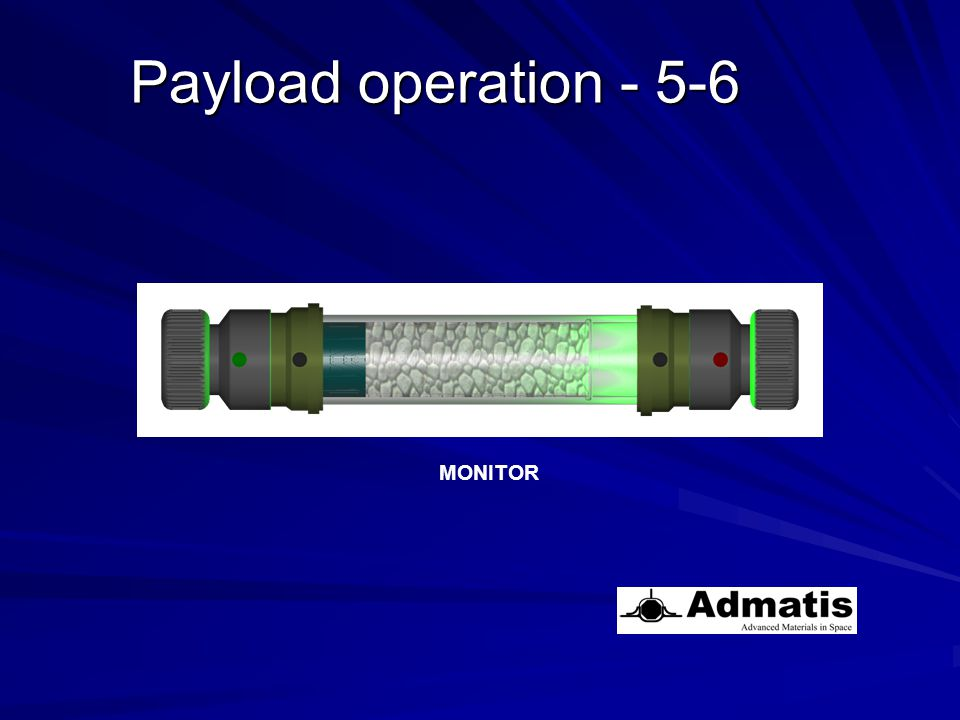 MONITOR Payload operation - 5-6