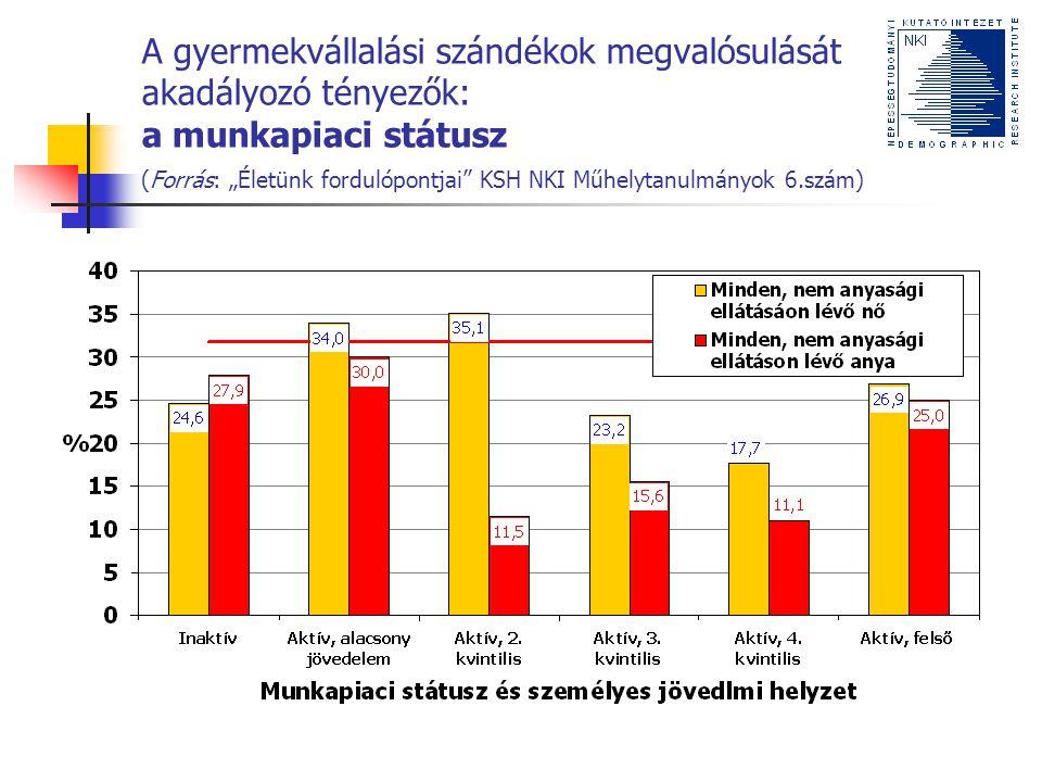 """Közösségi programok, politikák Az elemzés alapján Közép-végzettségűek """"törékeny munkapiaci helyzete (""""visszatérés a munkapiacra , """"munkaadók előítéletessége ) """"Időzítési politika (Lutz) Az elemzésen túl A gyermekellátás intézményeinek fejlesztése A férfiak szerepe Kiszámíthatóság"""
