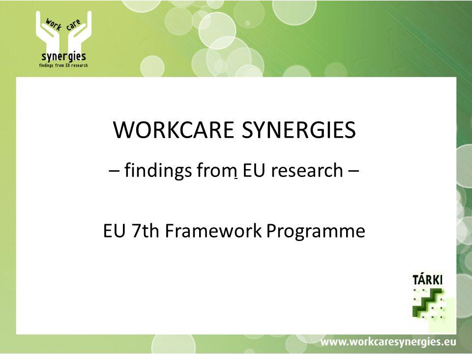 A projekt Támogatási akció (support action) az Európai Unió 7.