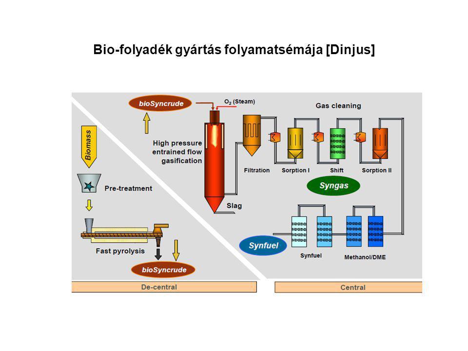 Bio-folyadék gyártás folyamatsémája [Dinjus]