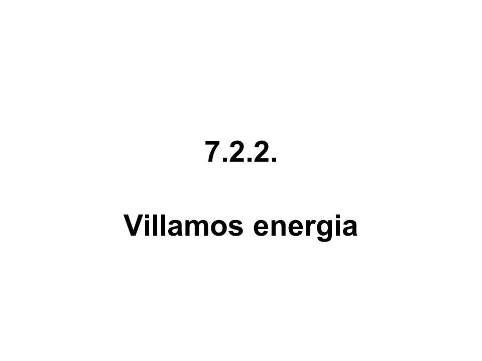 7.2.2. Villamos energia