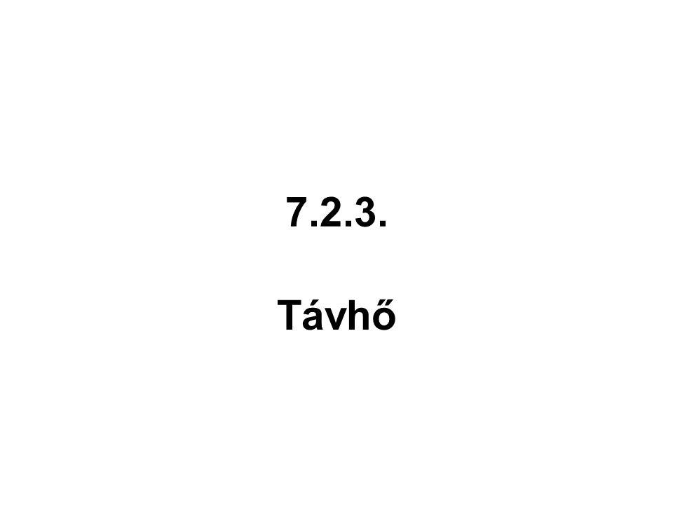 7.2.3. Távhő
