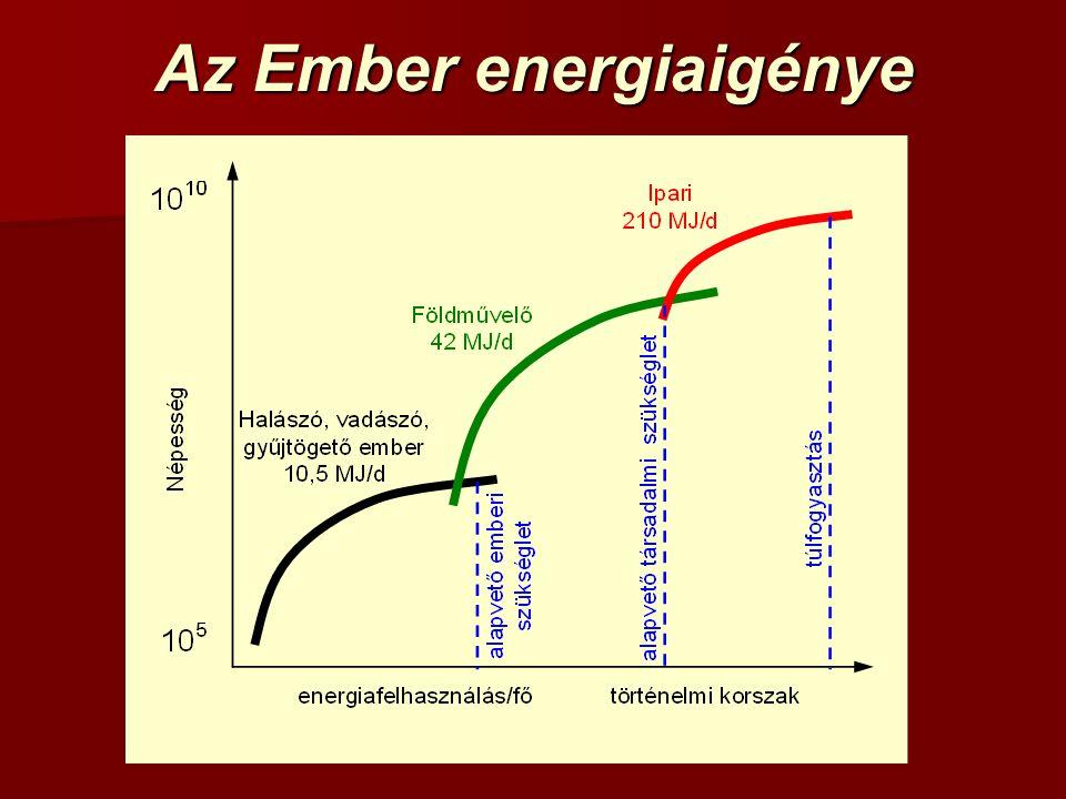 Az Ember energiaigénye